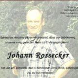 Parte Johann Rossecker