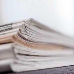 """Berichte und Vorschau im Wochenblatt """"Tips"""""""