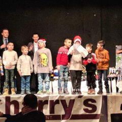 Die Jugendweihnachtsfeier, jedes Jahr ein Hit …