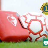 EIn Defibrillator für den KSC – Danke an den Lions Club!