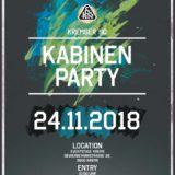 Kabinenparty! 24.11.2018
