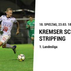 SA, 23.3.2019 – SPITZENSPIEL: KSC gegen Stripfing