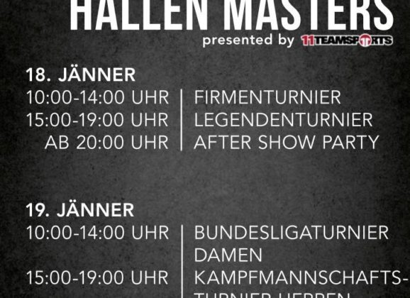 Wachauer Hallenmasters presented by