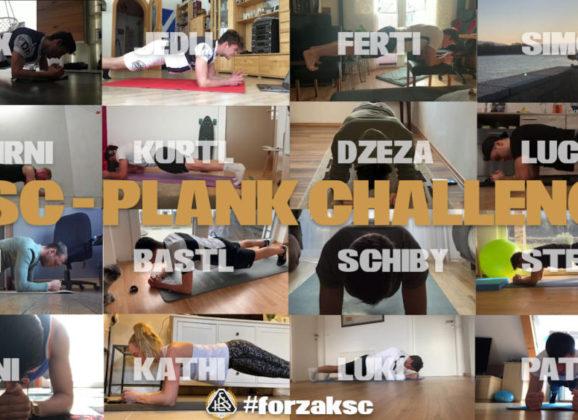 Unsere Spieler stellen sich einer Challenge um fit zu bleiben